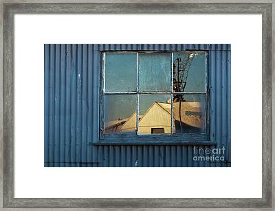 Framed Print featuring the photograph Work View 1 by Werner Padarin