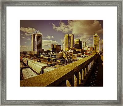 Workday Framed Print