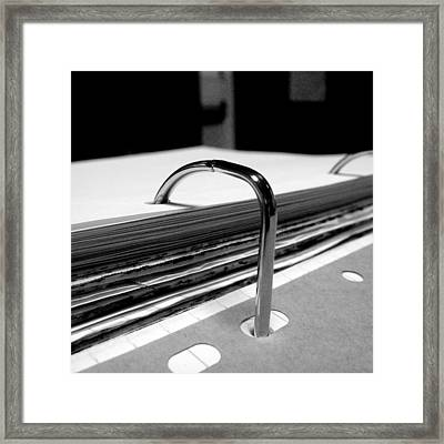 Workday Framed Print by Roberto Alamino