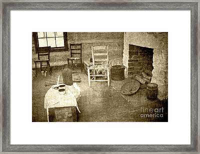 Framed Print featuring the photograph Worker Quarters 2 by Pete Hellmann