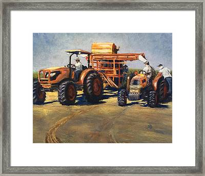 Workin' At The Ranch Framed Print