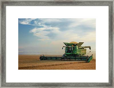 Working Alone Framed Print by Todd Klassy