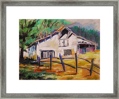 Framed Print featuring the painting Working And Stately by John Williams
