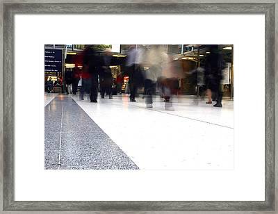 Working Feet Framed Print by Jez C Self