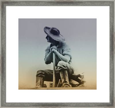 Working Man Framed Print by Bill Cannon