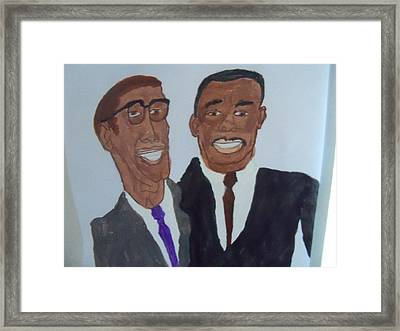 Working Together Framed Print by Rhonda Jackson