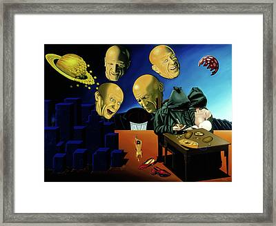 Framed Print featuring the painting Working Women's Shoes by Paxton Mobley
