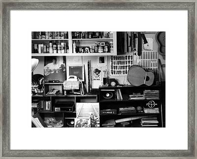 Workroom 1979 Framed Print by Gary Peterson