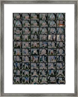 Worksheet Framed Print by Choco Friedrix