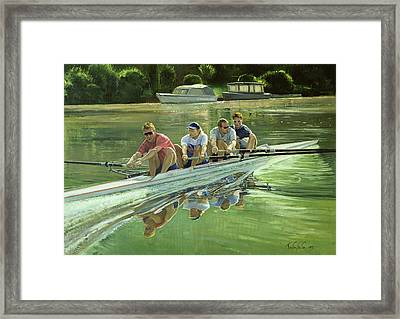 World Champions Framed Print by Timothy Easton