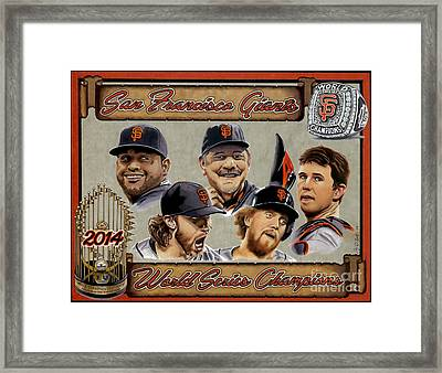 World Champs Framed Print