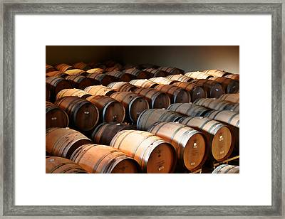 World-class Wine Is Made In California Framed Print