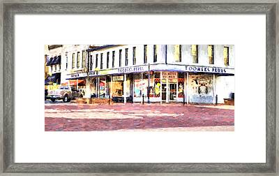 World Famous Toomers Corner Framed Print by JC Findley