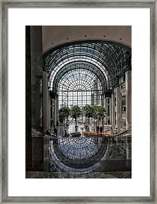 World Financial Center Nyc Framed Print by Robert Ullmann
