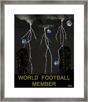 World Football Member Framed Print