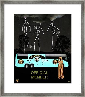 World Football Official Member Framed Print