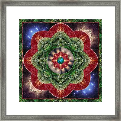 World-healer Framed Print