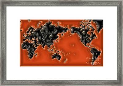 World Impressions - Global Warming Framed Print by Kaye Menner