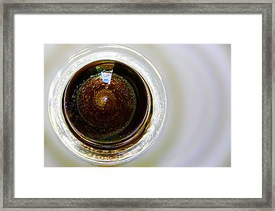 World In A Glass Ball 02 Framed Print