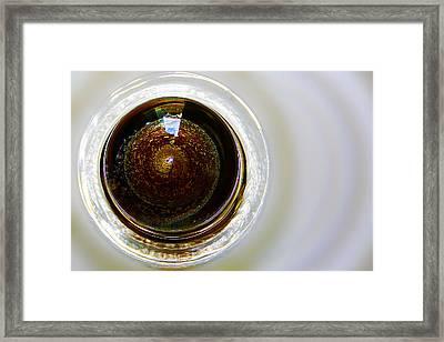 World In A Glass Ball 02 Framed Print by Li   van Saathoff