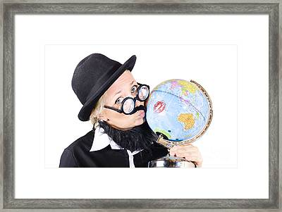 World Love Framed Print by Jorgo Photography - Wall Art Gallery