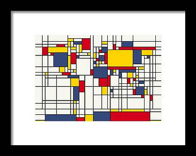 Cartography Framed Prints