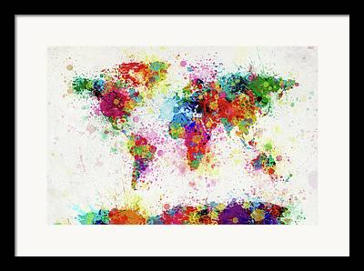 Colorfull Framed Prints