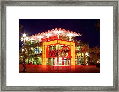 World Of Coca Cola At Disney Springs Framed Print