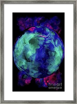 World Of Miracles Framed Print by Krissy Katsimbras
