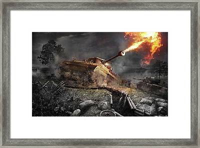World Of Tanks Xbox Edition Framed Print