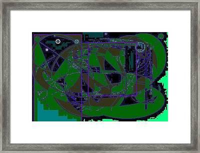 World Of The Frog Framed Print by Roman Krimker