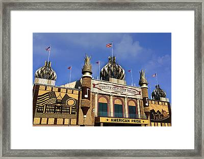 World's Only Corn Palace Framed Print