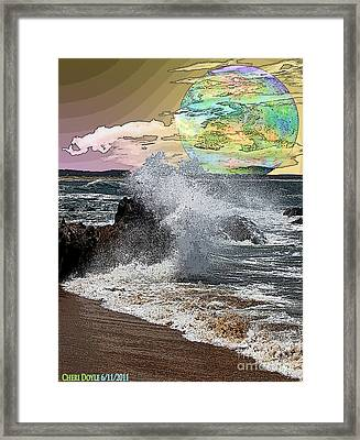World Outside Our Own Framed Print by Cheri Doyle