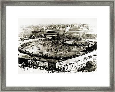 World Series, 1903 Framed Print by Granger