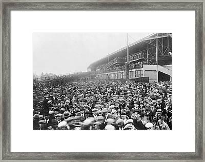 World Series, 1924 Framed Print