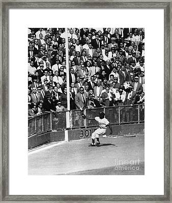World Series, 1955 Framed Print by Granger