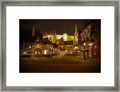 World Showcase - Germany Pavillion Framed Print