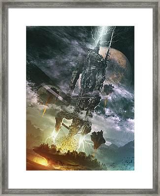 World Thief Framed Print