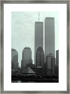 World Trade Center  Framed Print