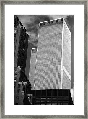 World Trade Center Framed Print by Eric Foltz