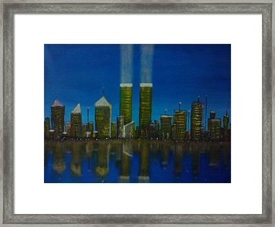 World Trade Center Framed Print by Jason Walburn