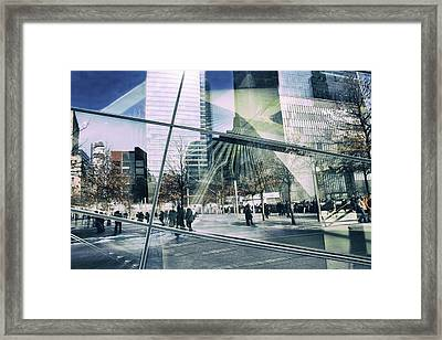 Framed Print featuring the photograph World Trade  by Jessica Jenney