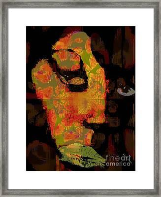 World Traveler Against Forced Marriage Framed Print by Fania Simon