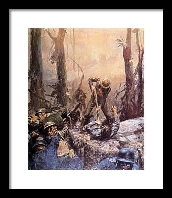 Belleau Wood Framed Prints