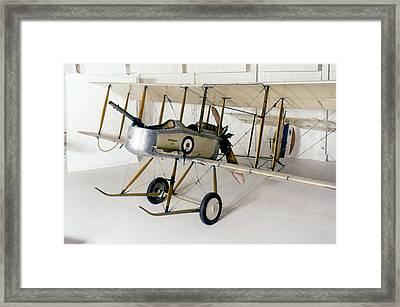 World War I: British Plane Framed Print by Granger