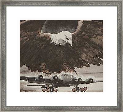 World War II Advertisement Framed Print