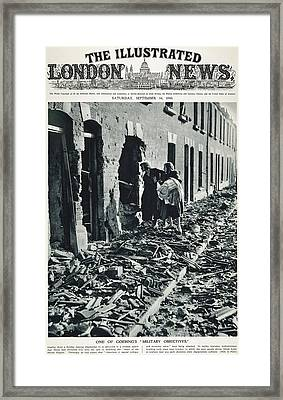 World War II: Blitz, 1940 Framed Print by Granger