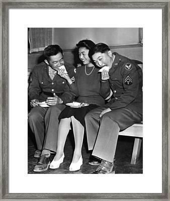 World War II, Corporal Frank N Framed Print by Everett