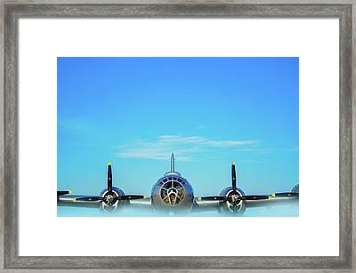 World War II Era B-29 Stratofortress Bomber Framed Print by Art Spectrum