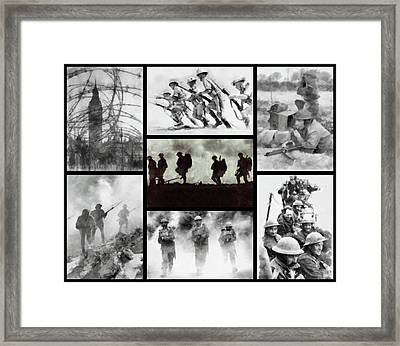 World War II Framed Print by John Springfield
